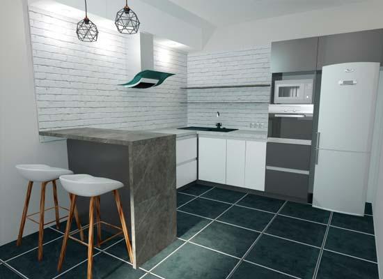 Фото 3D-Проект-кухня