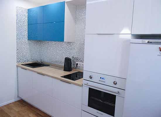 Фото Кухня цвет Бирюза