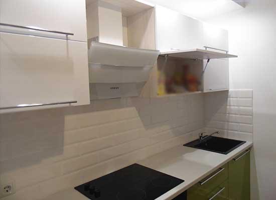 Фото Кухня Фисташка