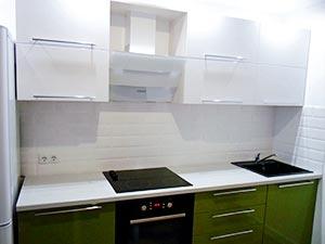 Кухня-Фисташка зеленая