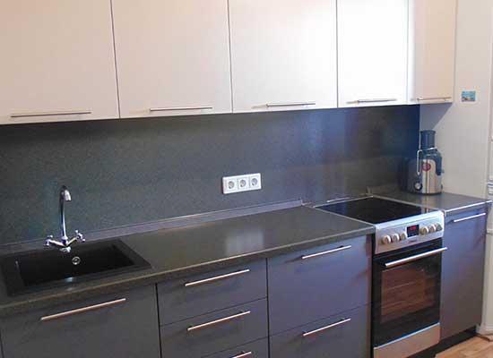 Фото Кухня графит