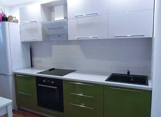 Фото Кухня Зеленая