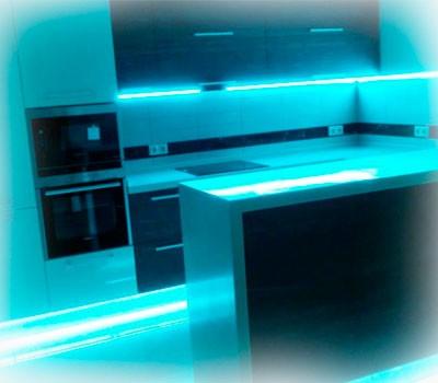 Картинка Подсветка кухни -LED