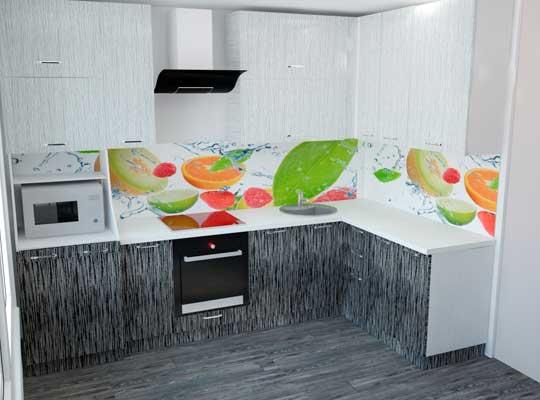Картинка 3Д-проект Кухни